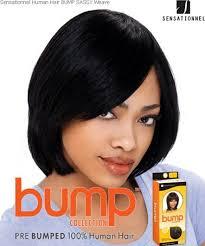 short bump weave hairstyles sensationnel bump yaki 8 human hair weave extensions