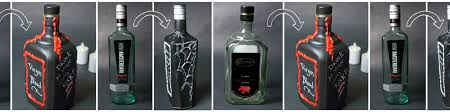 Vodka Bottle Halloween Costume Diy Gothic Bottle Decorations Wholesale Halloween Costumes Blog
