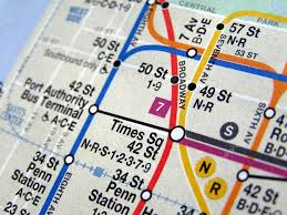 Metro Map New York by New York Subway Map U2014 Stock Photo Claudiodivizia 3534881