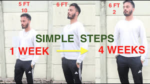 How To Get Taller In 1 Week Grow Taller Fast Naturally With