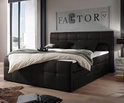 Schlafzimmer Betten Mit Bettkasten Bett Amarillo Anthrazit 180x200 Matratze Mit Topper Und Bettkasten