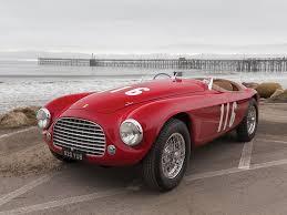 Ferrari California 1950 - ferrari 166 mm barchetta 1950 usa giełda klasyków