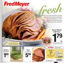 fred meyer ad and deals 3 24 3 30 easter ham asparagus