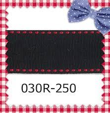 black grosgrain ribbon aliexpress buy 7 8 inch 22mm saddle stitched black