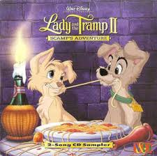 lady tramp ii scamp u0027s adventure 2 song cd