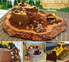 construction birthday cakes construction site birthday cake step by step birthday cakes
