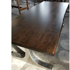 Living Edge Dining Table by Union Rustic Selden Live Edge Maple Dining Table Wayfair