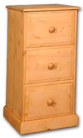 Pine Filing Cabinet Blenheim Solid Pine 3 Drawer Filing Cabinet Blenheim Pine