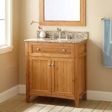 bathroom ideas dark brown walnut wood shallow bathroom vanity