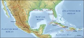 Columbian Exchange Map Cabeza De Vaca
