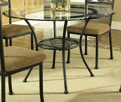 glass top dining table round u2013 rhawker design