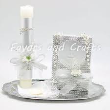 baptism candle favors baptism set christianity ebay