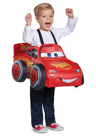 Toddler Halloween Costumes Boys Lightning Mcqueen 3d Toddler Costume