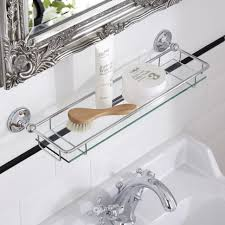 Glass Shelves For Bathrooms Bathroom Glass Shower Shelves For Tile Glass Shelf Brackets Ikea