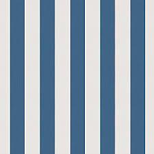 Blue Awning Coral U0026 Blue Stripe Fabric Chantilly Stripe Midnight Loom Decor