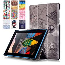 luxury cover for lenovo tab3 7 essential 710f 710l 7 inch case