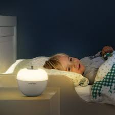 battery powered bedside l night light kids baby room l bedside battery operated lshade