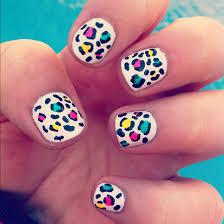 animal print uñas nails nail uña diseño diseños design designs