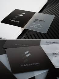 translucent business cards in dubai abu dhabi uae