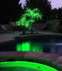 lighted outdoor trees free lightshare ft palm tree led lights