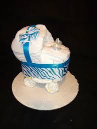 amazon com diaper cake stroller centerpiece baby blue by