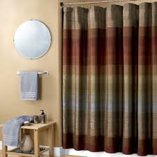 Shower Curtain Blue Brown Blue And Brown Shower Curtain Fabric Integralbook Com