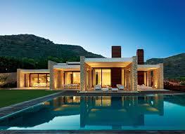 contemporary mediterranean house home design ideas