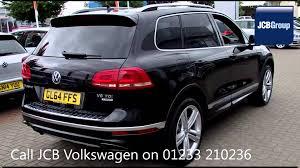 volkswagen touareg 2017 black 2014 volkswagen touareg v6 r line tdi bluemotion 3l black gl64ffs