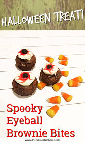 spooky eyeball brownies halloween treat the moments at home