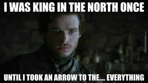 King Of The North Meme - here comes the king in the north by rob lucci meme center