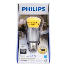 Philips Led Light Fixtures by Philips 417048 Dimmable Ambientled 8 Watt A19 Light Bulb Led