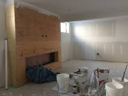 family rooms custom drywall