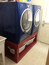 Kenmore Washing Machine Pedestal Front Loader Washer And Dryer Pedestals I Like This Idea To Raise