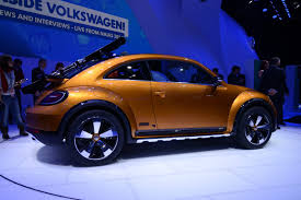 2017 volkswagen beetle dune road vw u0027s new beetle dune concept can carry skis in style