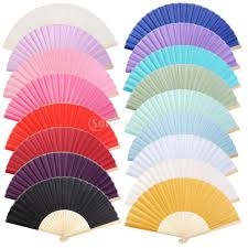 cheap hand fans for wedding chinese folding bamboo fan retro hand fan wedding favors in party