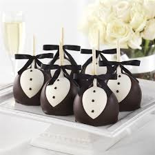 black tie party favors black tie caramel apple assortment mrs prindables