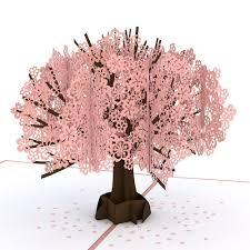 cherry blossom pop up s day card lovepop