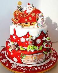 katiesheadesign christmas holiday adorable santa cake