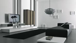 living room impressive black and white modern living room decor