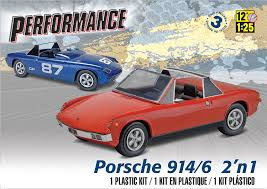 classic porsche 914 amazon com revell porsche 914 6 2 u0027n 1 model kit toys u0026 games