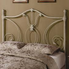 iron beds and headboards full queen white metal headboard headboards