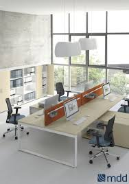 workstation desk oak birch chestnut ogi q mdd