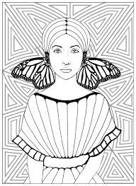 butterflies relaxation archives coloring pages for adults