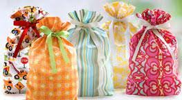 cloth gift bags cloth gift bags by livingethos reusable stylish fabric gift bags