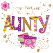 special aunty happy birthday greeting card cards love kates