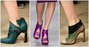 autumn winter 2014 2015 key shoe trends fashion blues