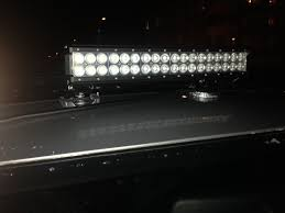 Led Work Light Bar by Driving Test Of 18