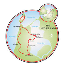Holland Michigan Map by North Holland Bike And Barge Tour Netherlands Tripsite