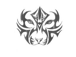 tiger paw free designs abstract tiger with ornament on