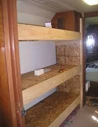 Adding Rv Bunks Could Make The Bottom One A Pull Out Double - Rv bunk bed mattress